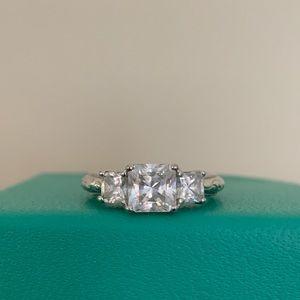Tacori Epiphany Diamonique Princess Cut Ring